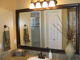 peahen pad framing an existing bathroom mirror crafty design framing an existing bathroom mirror peahen pad
