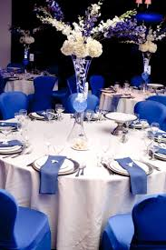 blue centerpieces wedding decorations royal blue wedding corners