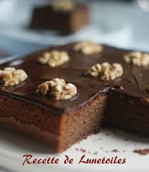recette amour de cuisine gateau moelleux aux amandes et chocolat amour