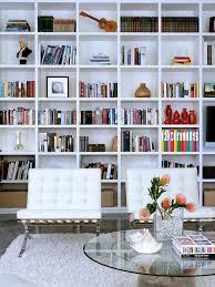Living Room Wall Shelving by Best 25 White Bookshelves Ideas On Pinterest Living Room