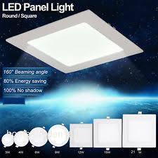ceiling light flat round led flat panel light ebay