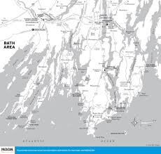 Map Of Greater Boston Area by Printable Travel Maps Of Maine Moon Travel Guides