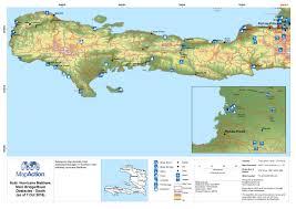World Map Haiti by Haiti October 2016 Mapaction