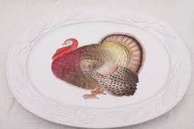 turkey platters thanksgiving thanksgiving turkey platter 80s otagiri japan turkey platters and