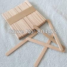 sticks wood 100x craft stick 11cm wooden popsicle stick to