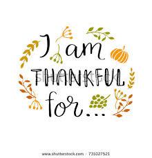 thanksgiving lettering modern stock vector