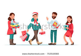 free happy family shopping vector illustration download free