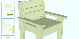 simple outdoor chair plans free chair plans outdoor chair plans
