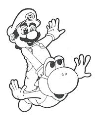 coloring pages mario print super mario brothers printable images