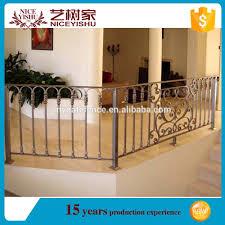 wrought iron balcony railings designs railing cost per ft cast