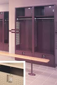 Lyon Locker Room Benches Football Locker Metal Football Locker Storage Lockers