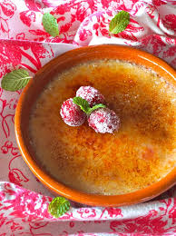 cuisine creme brulee cranberry creme brulee recipe with amaretto cooking on the weekends