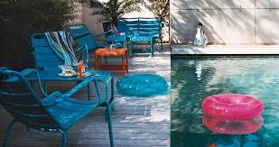 table de jardin fermob soldes table basse repose pieds luxembourg pour salon de jardin