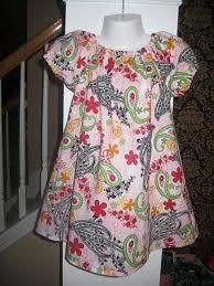 free little girls dress pattern sewing listia com auctions
