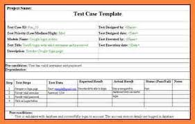 test case template sample test case template with explanation of