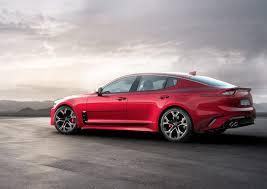 new 2018 kia stinger rwd sports sedan is going after bmw 4 series