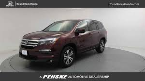 2017 new honda pilot ex awd at round rock honda serving austin