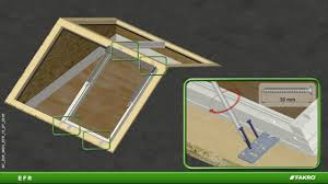 fakro roof windows erf flat roof gable system youtube