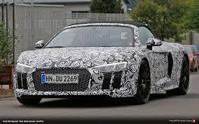Audi R8 Spyder - audi r8 spyder spied fourtitude com
