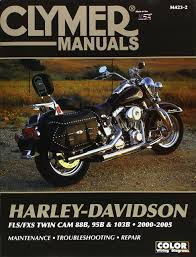 clymer harley davidson fls fxs twin cam 88b 95b u0026 103b 2000 2005