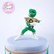 power rangers cake toppers green mighty morphin power ranger cake topper modeling cho flickr
