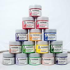cheap best selling craft smart non toxic art acrylic paint 100 ml