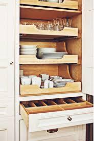 Drawer Kitchen Cabinets Best 25 Dish Storage Ideas On Pinterest Kitchen Drawer Dividers