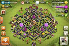 coc layout builder th8 layouts hall gaming and video games