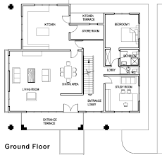 contemporary floor plans for homes contemporary house plan 4 bedrooms 4 bathrooms home design