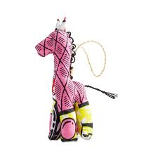 giraffe stuffed animal ornament by ornaments 4 orphans thrive market