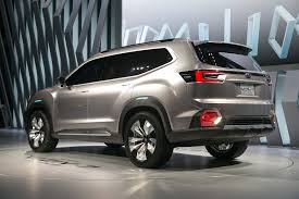 subaru concept cars subaru viziv 7 suv concept first look review