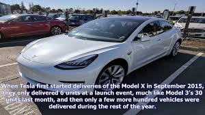 tesla is delivering more model 3 vehicles while working through