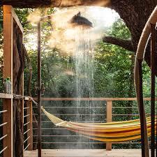 the treehouse spa you wish you had in your backyard martha stewart