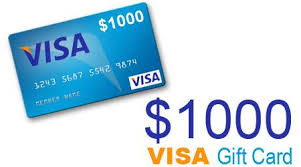 1000 gift card win a free 1 000 visa gift card home