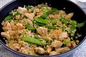 cuisiner des pois mange tout poulet curry blé fève pois gourmand