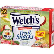 welch u0027s apple orchard medley fruit snacks 22 0 9 oz pouches