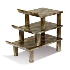 Pagoda Outdoor Furniture - pagoda table traditional transitional mid century modern side