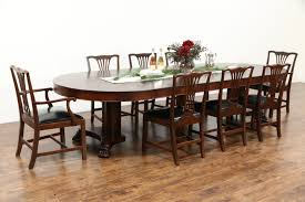 Antique Mahogany Dining Room Furniture by Sold Round 54