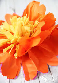 tissue paper flowers printable instructions how to make tissue paper flowers skip to my lou