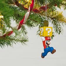 mario ornament keepsake ornaments hallmark