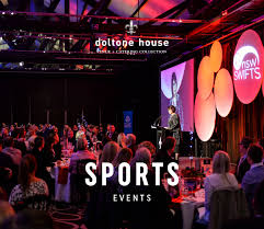 function venues for sports events in sydney doltone house