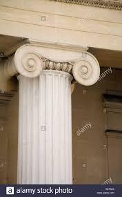 ionic column canada house trafalgar square london england uk