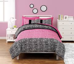 mainstays zebra stripe bed in a bag set walmart canada
