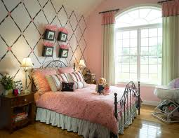 Bedroom Wall Colours Bedroom Awesome Girls Bedroom With Pink Covering Single Bed And