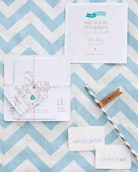 invitations from real weddings martha stewart weddings