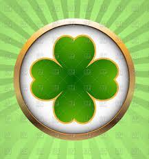 clover leaf icon st patrick u0027s day vector image 146251 u2013 rfclipart
