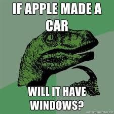 Makes Memes - if apple makes a car funny meme funny memes