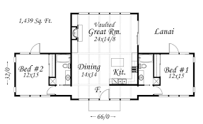 1439 sq ft remove 1 bedroom reduce great room size get plan down