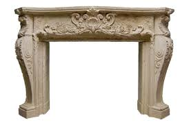ornate louis xiv stone fireplace mantel stone mantel mt1010