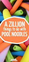 can you believe it u0027s a pool noodle pool noodle crafts fun